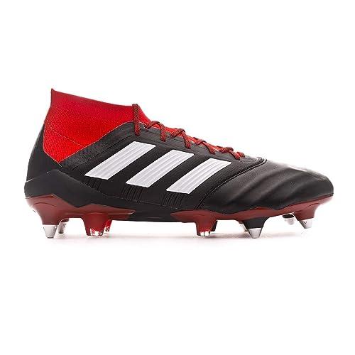 sale retailer 03864 5c3d7 Adidas Predator 18.1 SG, Scarpe da Calcio Uomo, Nero Cblack Ftwwht Red, 43  1 3 EU  Amazon.it  Scarpe e borse