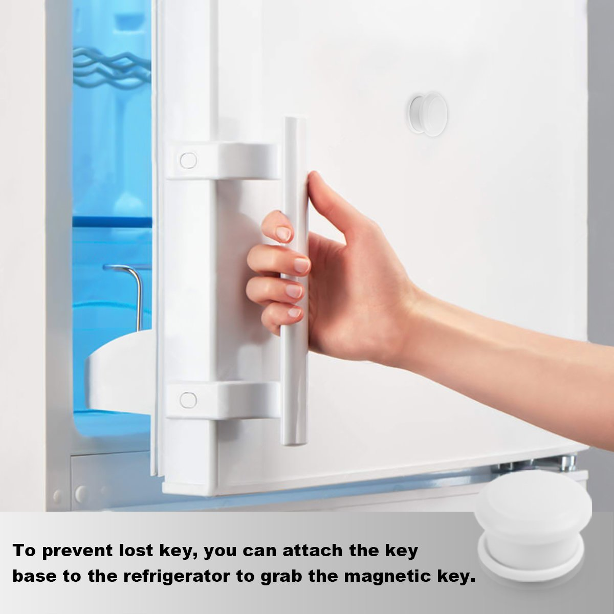 Child Safety Magnetic Cabinet Locks(16 Locks + 3 Keys), Baby Proof, No Tools Or Screws Needed - TimberRain by TimberRain (Image #7)