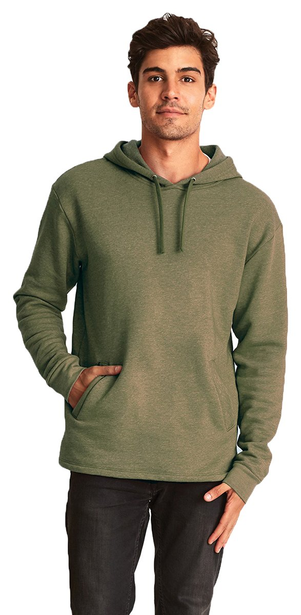 Next Level Womens PCH Pullover Hoody (9300) -HTHR MILIT -M