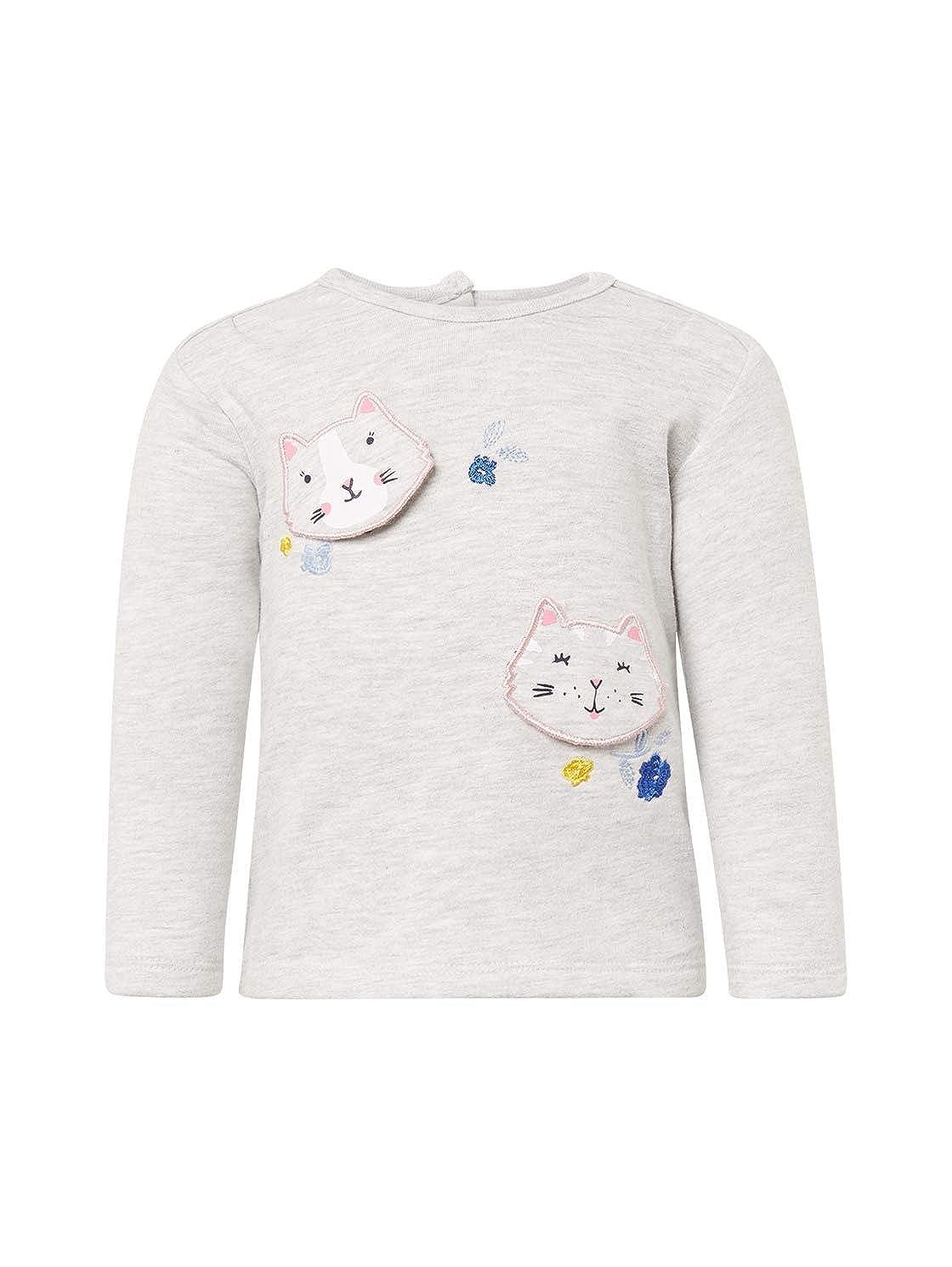 TOM TAILOR f/ür M/ädchen Strick /& Sweatshirts Sweatshirt mit Print