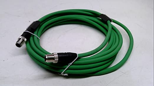Lumberg 0985-S4742-100//5M Profinet Cord Set M12 male to M12 male