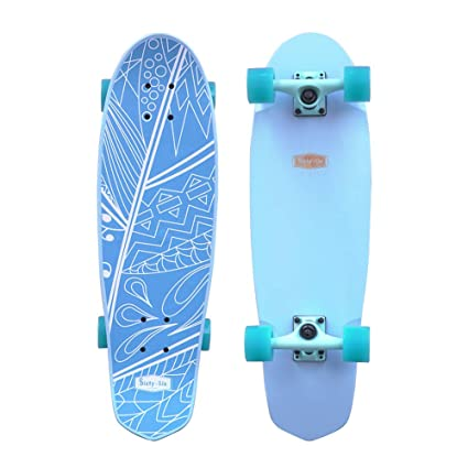 SANVIEW Complete 28inch Cruiser Maple Skateboards Outdoor