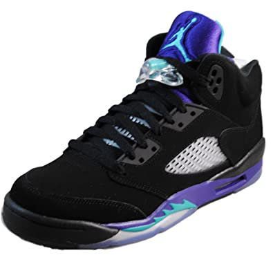 huge selection of 519e9 fb2bd Air Jordan 5 Retro (Gs)  Black Grape  - 440888-007 -
