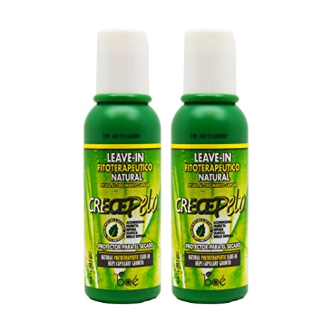 BOE Crece Pelo Leave-in Natural 4oz by BOE: Amazon.es: Belleza