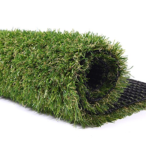 Turf Artificial Lawn Fake Grass Indoor Outdoor Landscape Pet Dog Area (40X40in) (Fake Blood Recipes)