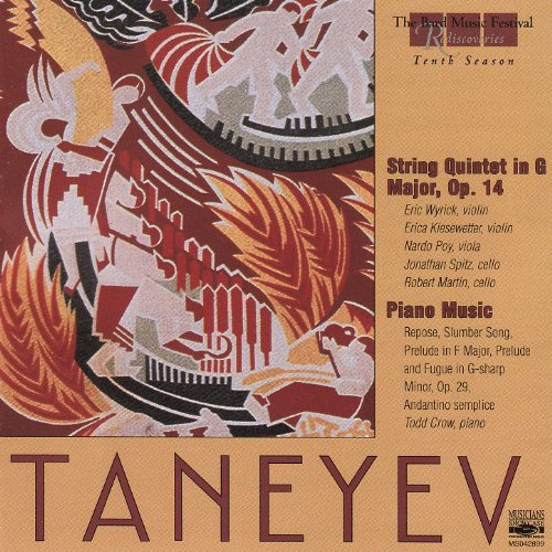 Sergei Ivanovich Taneyev: String Quintet in G Major, Op. 14 (II. Vivace con fuoco)