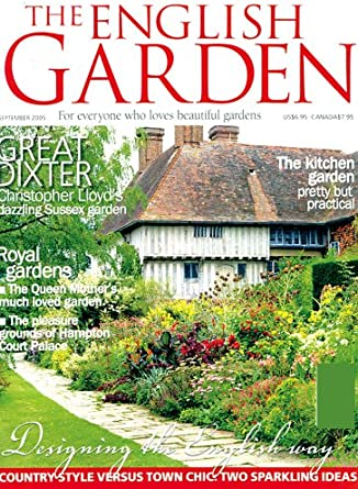 The English Garden Amazon Com Magazines