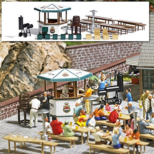 busch-1048-beer-garden-ho-scale-building-kit