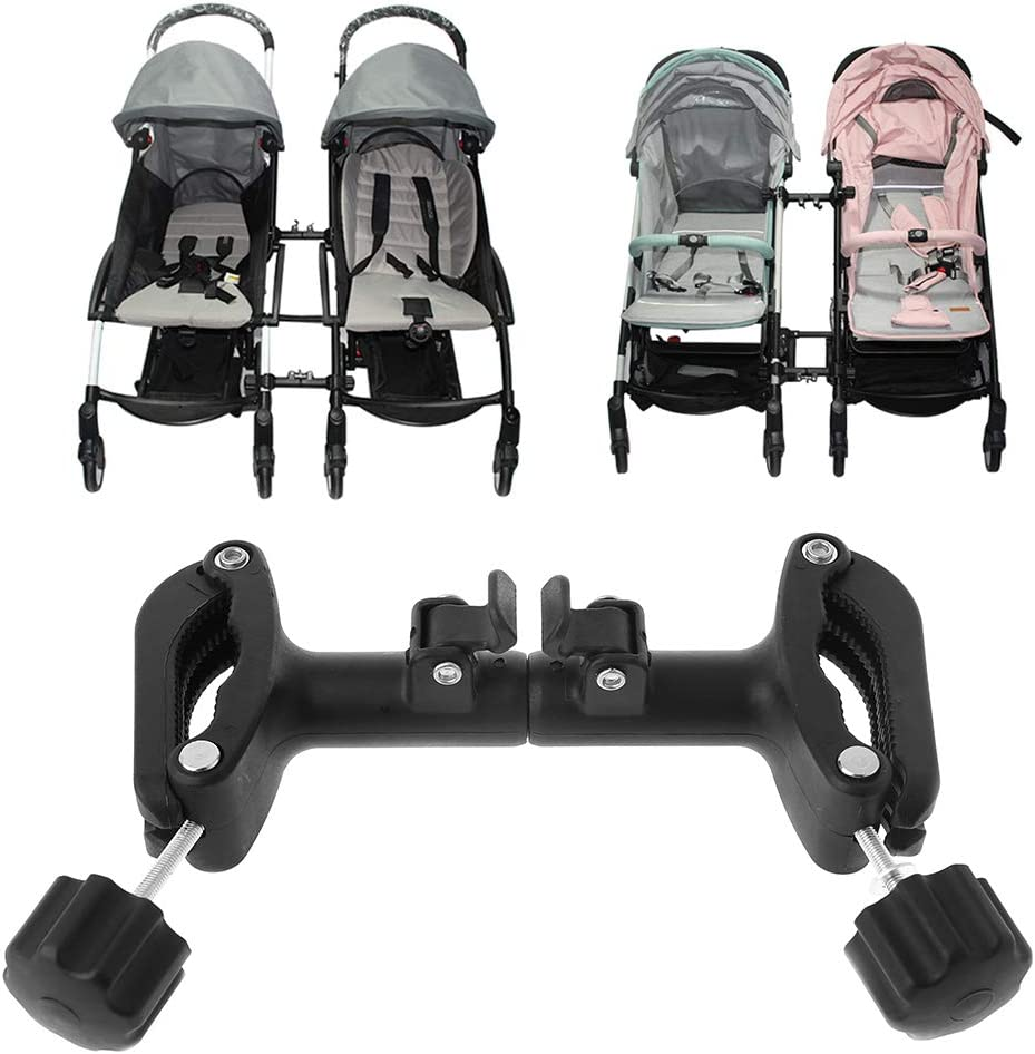 ZOOMY 3-teiliges Babywagen Montieren Sie den Verbindungsgelenk-Linker Einstellbare L/änge Twin Baby Stroller Connect Adapter Outdoor