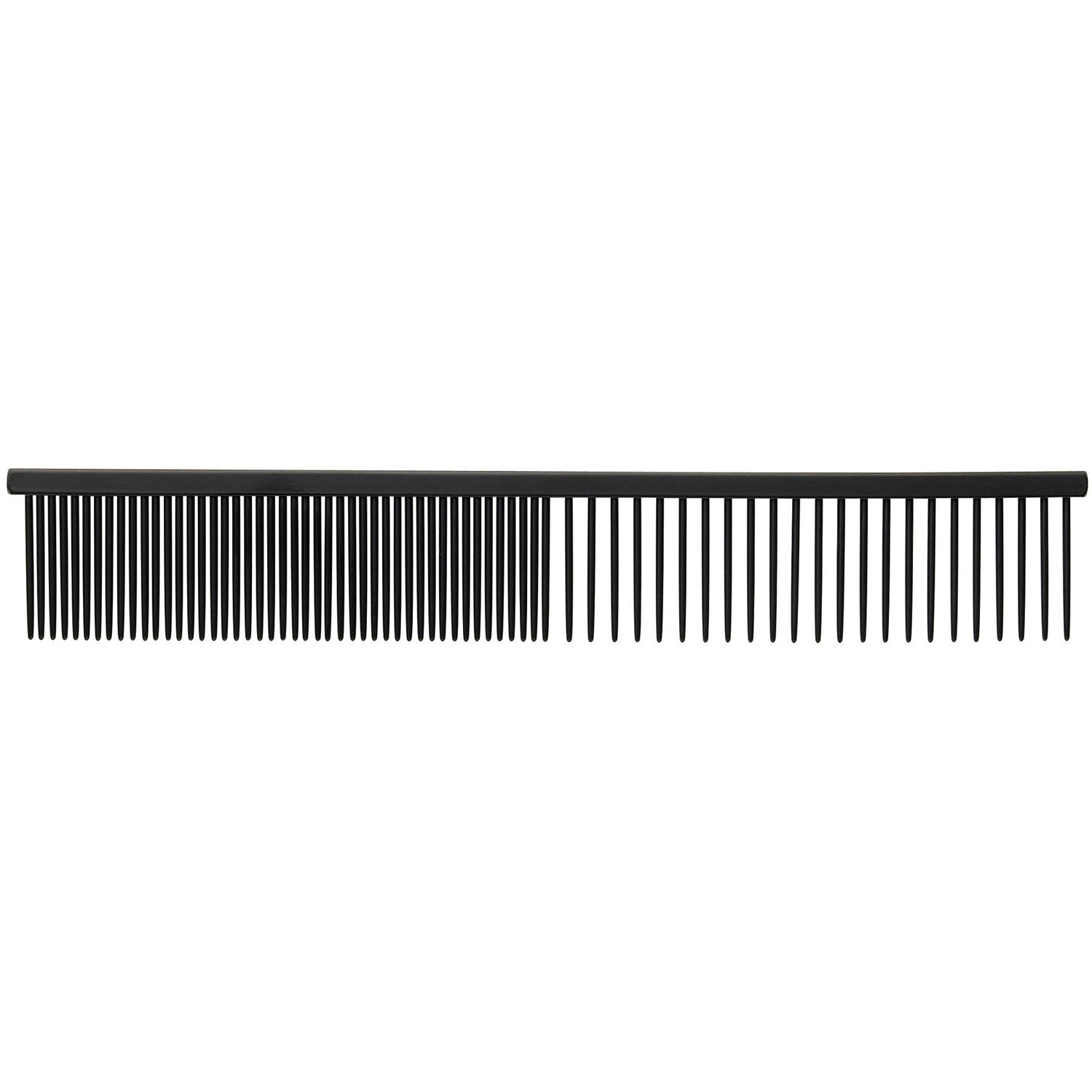 Master Grooming Tools Xylan Combs — Coated Combs for Grooming Dogs - Fine/Coarse, 7½''