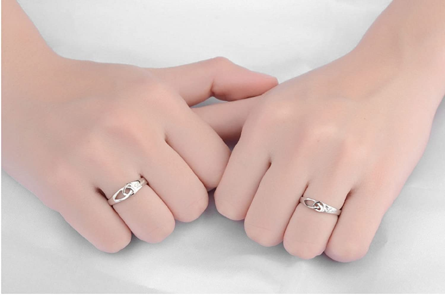 Buy Burning Dream CHuir Fashion Couple Rings for Him and Her ...