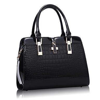 Handtaschen Mode Mode Wilden Europäischen Und Amerikanischen Modell Schultertasche Messenger Bag Handtasche,Red-OneSize GKKXUE
