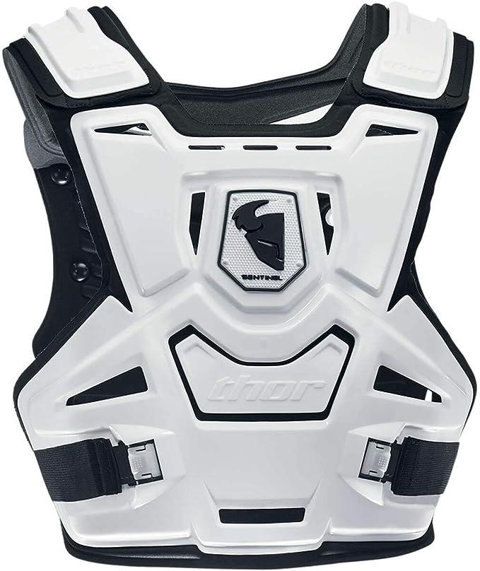Thor Brustpanzer Sentinel Weiß Sport Freizeit