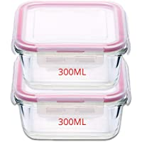 Kaiserhoff Flexi Kitchen Square Glass Storage Container Set