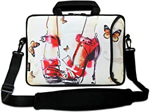 """15"""" Laptop Shoulder Messenger Bag 14.1"""" 15.6"""" Laptop Notebook Case Cover Holder"""