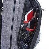 KARRESLY Canvas Sling Bag Chest Shoulder Unbalance
