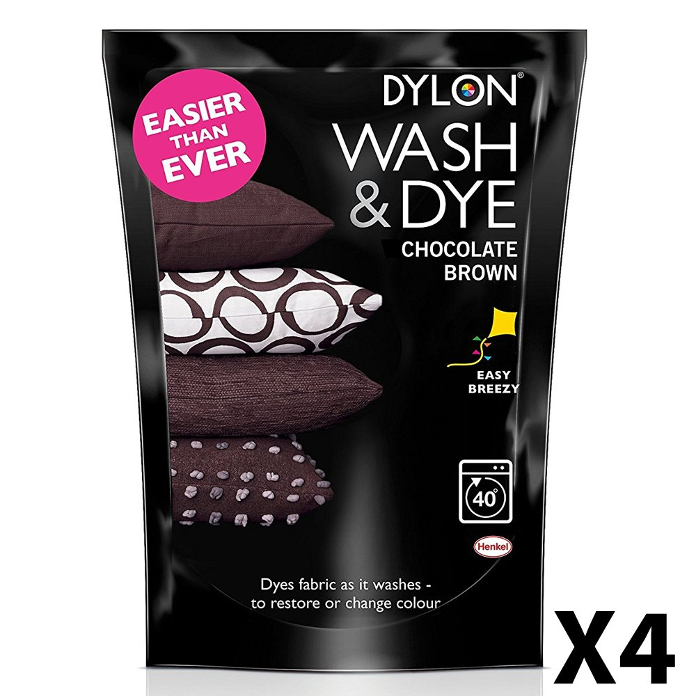 Dylon Wash And Dye, Powder, Chocolate 400g Henkel DYE-WD-CHB