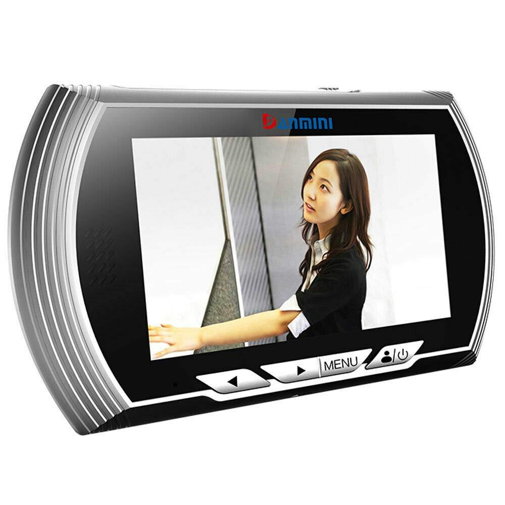 Eosphorus ML Digital TFT 4.3 inch LCD Peephole Doorbell Home Security Night Vision IR Camera