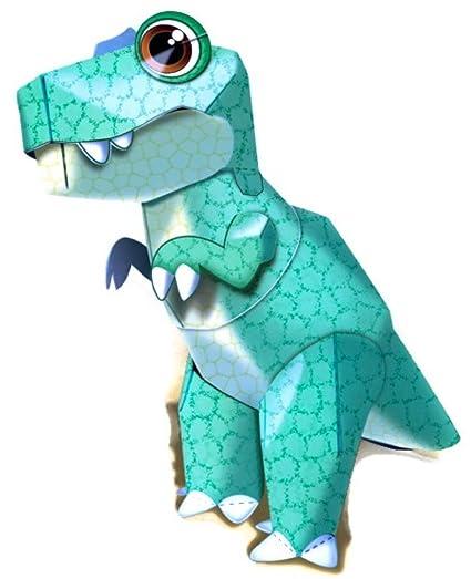 Amazon T Rex Dinosaur Awesome Easy Fun Diy 3d Art Paper Craft