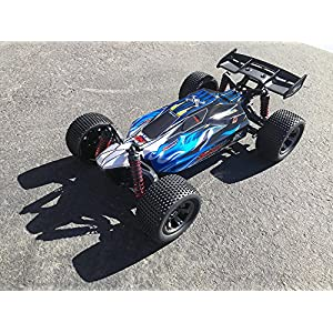 FMTStore Radio Remote Controlled 1/12 Scale Electric RC Car Offroad Buggy 2.4Ghz 2WD High Speed 28+KMH Remote Controlled Car Truck Buggy Crawler R/C (Color: Assorted)
