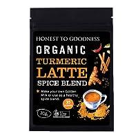 Honest to Goodness, Organic Turmeric Latte Spice Blend, 70g