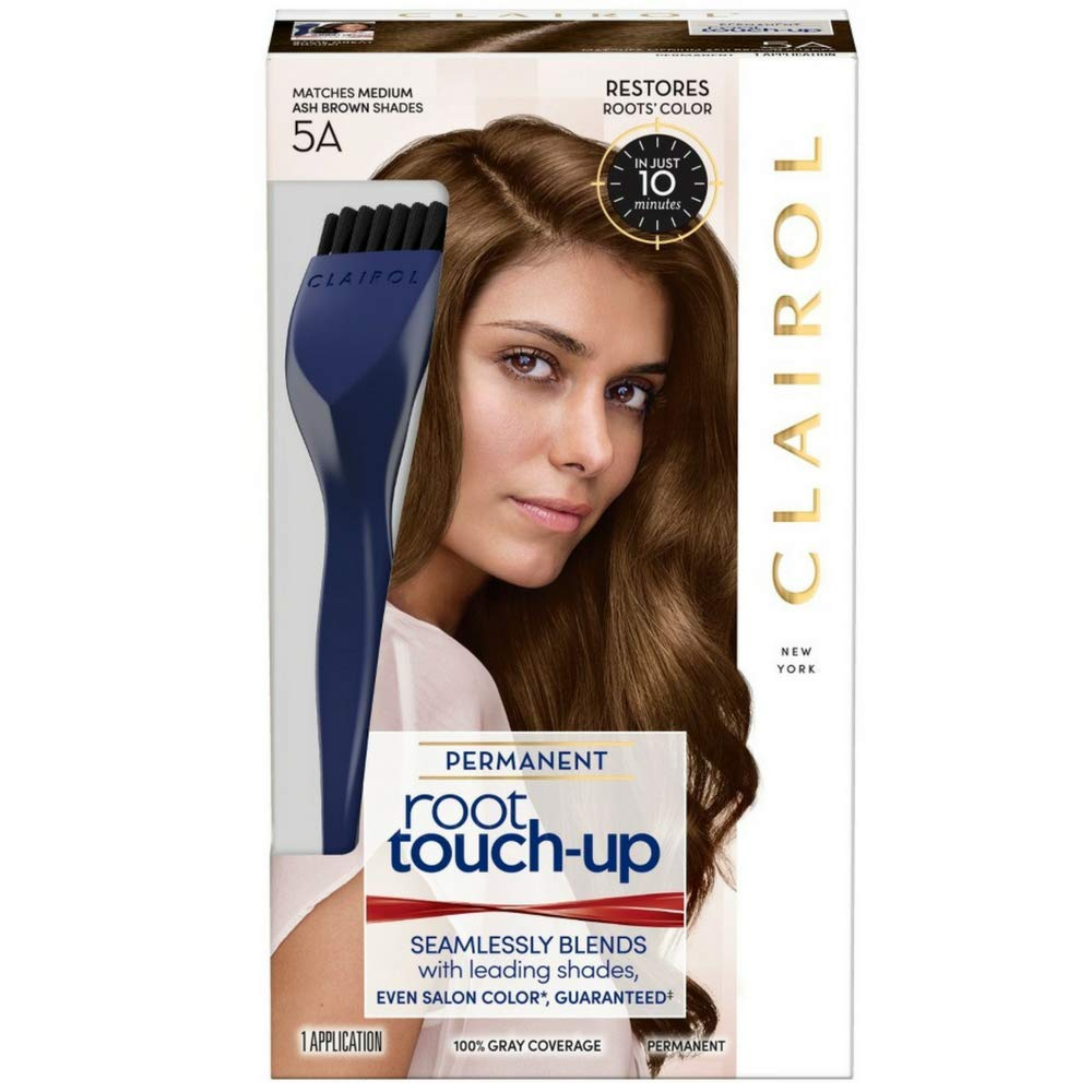 Clairol Nice 'N Easy Root Touch-Up 5A Medium Ash Brown (Pack of 3) by Clairol