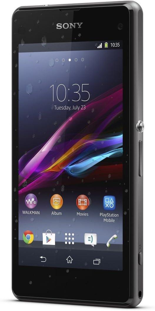 B00HIW5WW4 Sony Xperia Z1 Compact D5503 Android Smartphone (Black) International Version No Warranty 61N4H1Iha5L.SL1200_