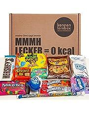 USA Box   Kennenlernbox met 12 populaire snoepjes uit Amerika   Cadeau-idee voor speciale gelegenheden