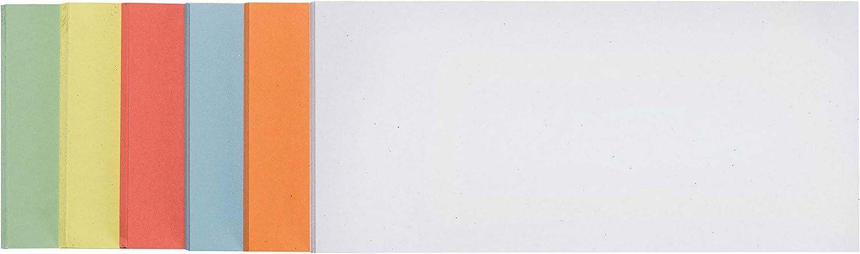 Rechteck orange 205 x 95 mm Franken UMZ 1020 05 Moderationskarte 500 St/ück