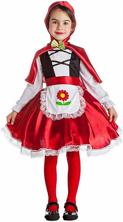 Disfraz de Caperucita flor para niña: Amazon.es: Productos para ...