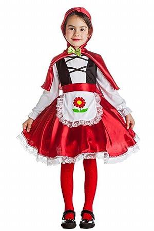Disfraz de Caperucita 7-9 años: Amazon.es: Juguetes y juegos