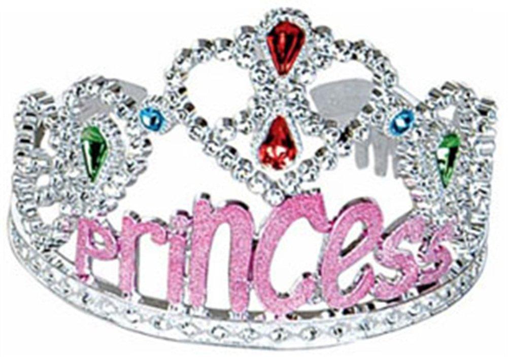 Princess Costume Pink Gems Tiara Birthday Party Hat