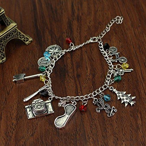 3 Pack Stranger Things Themed Charms Bracelet Pendant