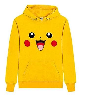 WTUS Sudadera con Capucha para Mujer, Pikachu: Amazon.es: Ropa y accesorios