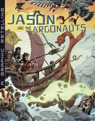 Download Jason and the Argonauts: A Graphic Retelling (Ancient Myths) pdf