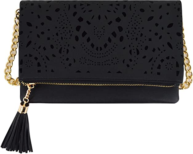 Women Envelope Clutches Chain Strap Ladies Purse Fashion Design Handbag Wallet