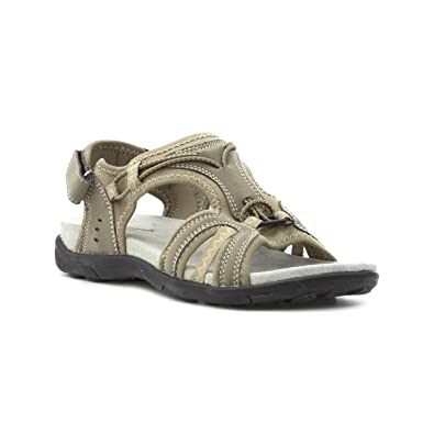 6fa744f0fe7c Cushion Walk Womens Brown Sporty Sandal  Amazon.co.uk  Shoes   Bags