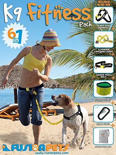 Fusion Pets K9 Hands Free Fitness Pack, 31 to 125-Pound]()