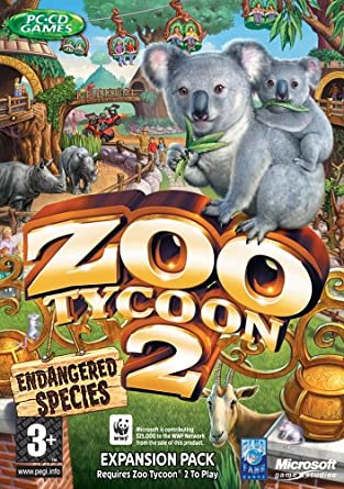 Zoo Tycoon 2: Endangered Species Expansion Pack (PC): Amazon