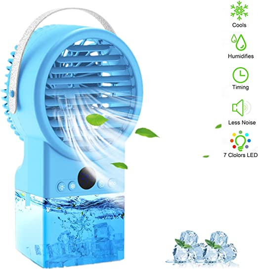 Air Cooler Humidificador Purificador Turbo-Ventilador Mini Aire ...