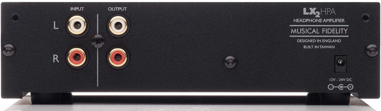 Musical Fidelity LX2-HPA Headphone Amplifier Black