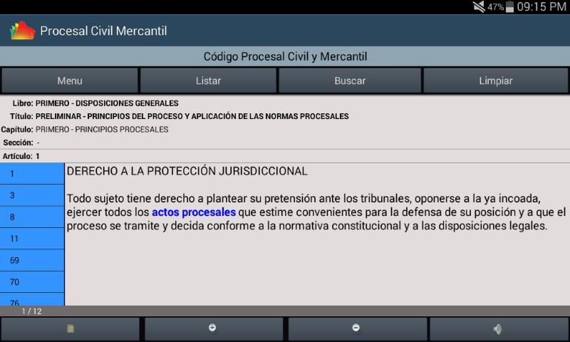 Amazon.com: Codigo Procesal Civil y Mercantil de El Salvador: Appstore for Android