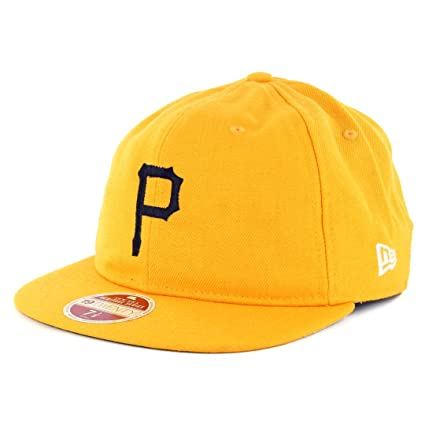 Image Unavailable. Image not available for. Color  New Era 5950 Pittsburgh  Pirates Vintage Wool Classic Fitted Hat (Yellow) Cap 5cc1798a2d2d