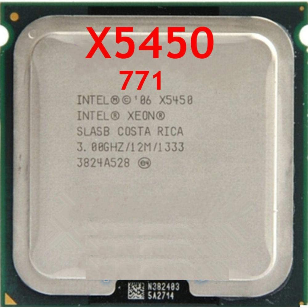 Intel Xeon X5450 3.0GHz//12M//1333 Processor Close to LGA771,Works On LGA 775 Mainboard 2 Conversion Stickers Pieces Free
