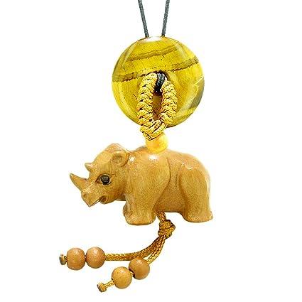 Amazon.com: Baby Rhino - Abalorio de buena suerte para coche ...