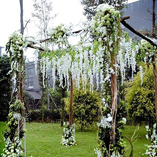 35 Best Wisteria Lodge Images On Pinterest: Luyue 3.18 Feet Artificial Silk Wisteria Vine Ratta Silk