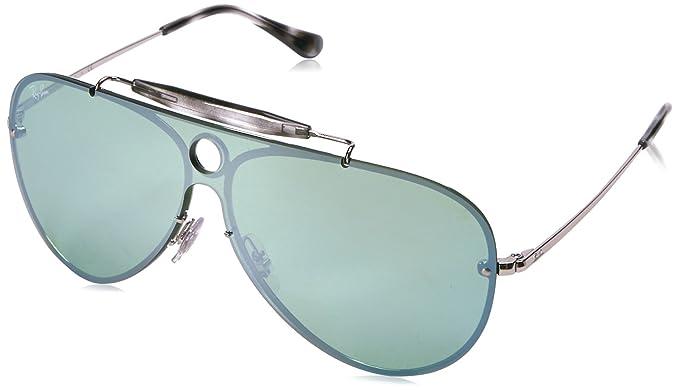 e341e962d420d Óculos de Sol Ray Ban Blaze Shooter RB3581N 003 30-32  Amazon.com.br ...