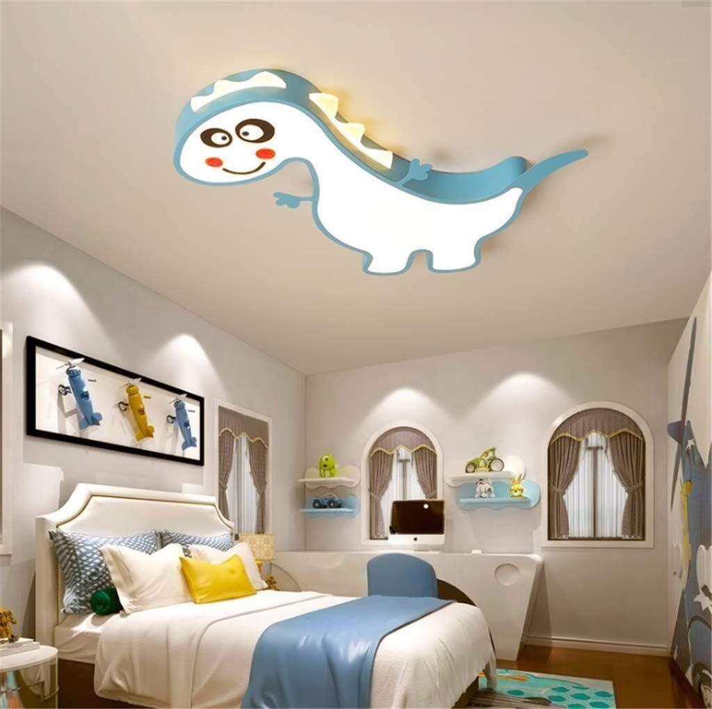 Plafonnier Ceiling Light LED Dimming Dinosaur Ceiling Lamp Modern