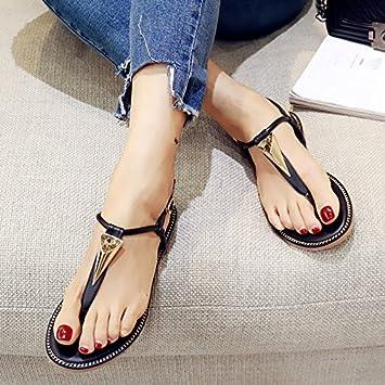 Clip Mujer Mayor Zapatos Verano De Sdkir Pies Sandalias Femenina 5qAc4Rj3L