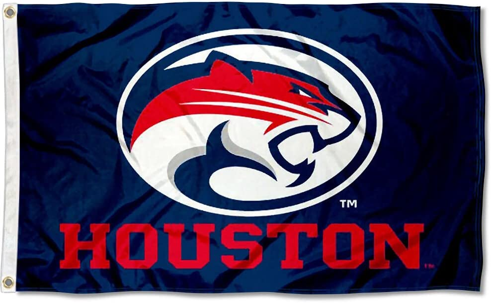 BSI NCAA College Houston Cougars 3 X 5 Foot Flag with Grommets